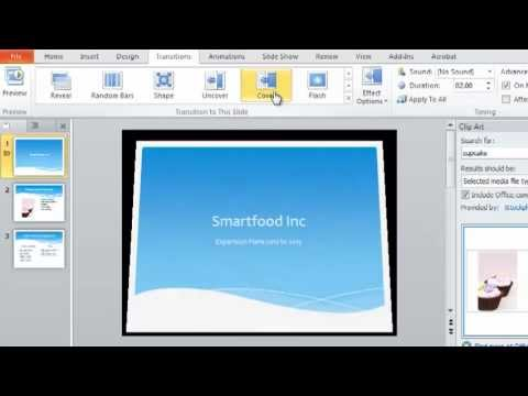 PowerPoint 2010 Tutorial 2 of 6 - Slide Design and Slide Transitions