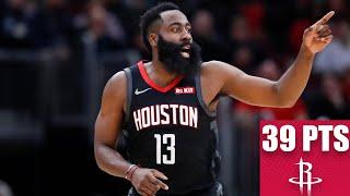 James Harden drops 39 points, tosses 9 assists vs. Pelicans | 2019-20 NBA Highlights