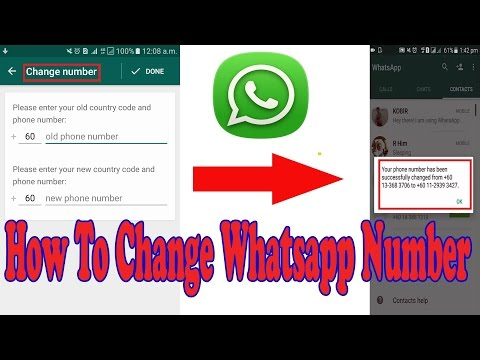 Keep Chat History- How To Change Whatsapp Number