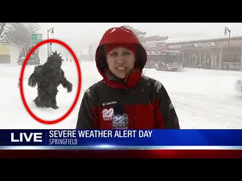 Top 5 Most Mysterious Things CAUGHT ON LIVE TV!