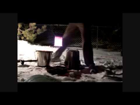 DIY Propane furnace - First Aluminum Melt