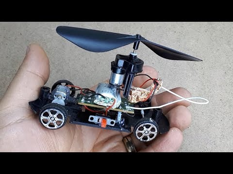 Helicopter Car can Fly? - Experiment! - Uçan Araba Denemesi