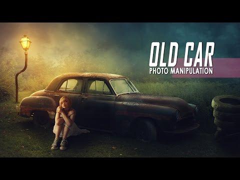 Old Car - Photoshop Manipulation Effect Tutorial