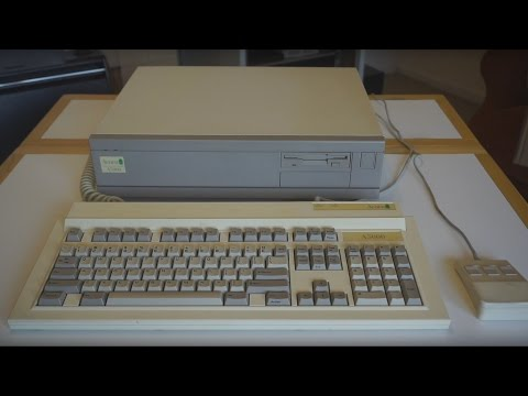 Acorn A5000 running RISC OS 3.1 (From 1991) - Tour and Look Inside!