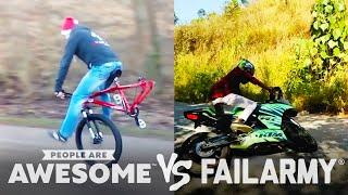Wins Vs. Fails | Wheelies, Floor Routines, Beam Jumps & More! | PAA Vs. FailArmy!