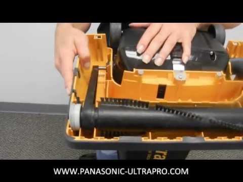 Panasonic Ultra-Pro Vacuum (MC-GG213) - Belt Change / Maintenance Video
