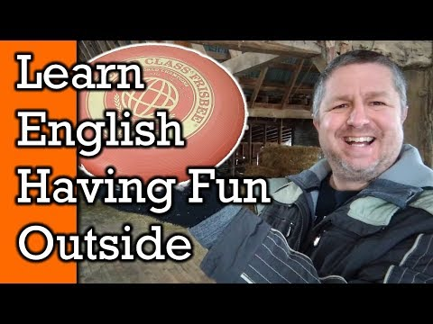 Fun Outside! Learn English Words and Phrases for Fun Things to do Outdoors