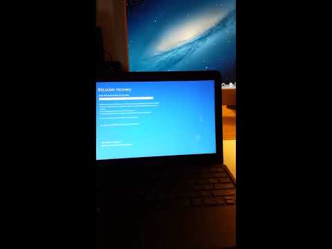 How to get passed Bitlocker recovery in Windows 10
