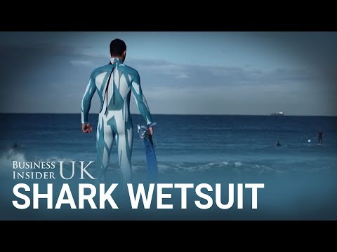 This wetsuit is designed to stop shark attacks by making you invisible to them