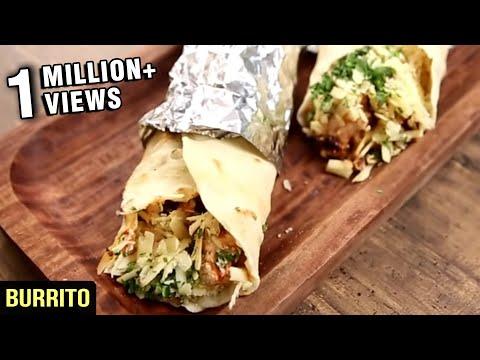 How To Make Burrito   Homemade Burritos Recipe    Nick Saraf's Foodlog