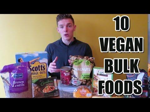 10 Vegan Foods To Help You Bulk | Gain weight, Add Muscle
