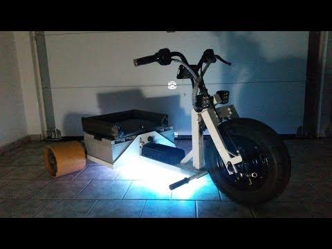Homemade Electric Drift Trike - Elektro Drift Trike - 3500w