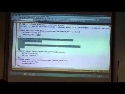 SQLDay 2013   DBA/DEV Track   Denny Cherry - Getting SQL Service Broker Up and Running