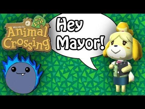 Working as the Mayor! -  Animal Crossing: New Leaf