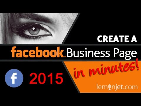Creating a Facebook Business Page in minutes