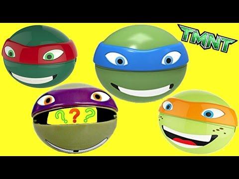 Teenage Mutant Ninja Turtles TMNT Snack-O-Spheres with Toys Unlimited