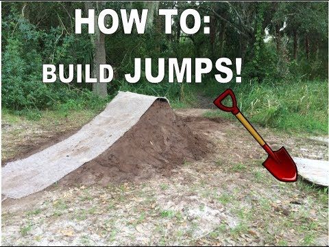 HOW TO BUILD A DIRT JUMP!!!