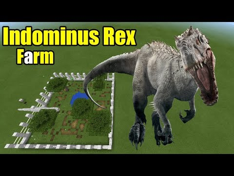 How to Make an Indominus Rex Farm | Minecraft PE