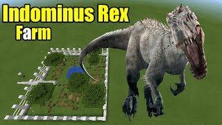How to Make an Indominus Rex Farm | Minecraft PE