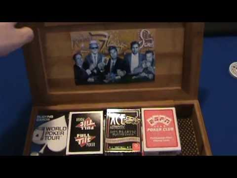 My custom playing card storage box