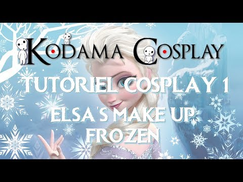 Cosplay Tutorial 1 -  Elsa's make up from Frozen