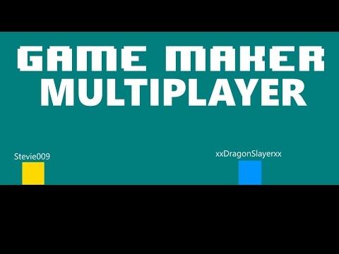 [Game Maker] Easy Multiplayer (LAN) + Top Down/Platform Game