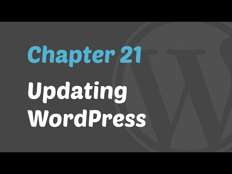 WordPress 101 - Updating WP to the New Version