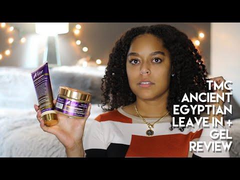 THE MANE CHOICE ANCIENT EGYPTIAN LEAVE IN + 24 KARAT TWISTING GEL | REVIEW | Danielle Renée
