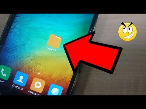 Hide FOLDERS without any Apps on ANDROID 2017 | Hide any files without Thirdparty Apps on Android