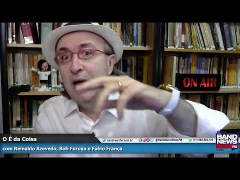 Reinaldo Azevedo: Bolsonarismo tenta levar desordem e mais doença a São Paulo