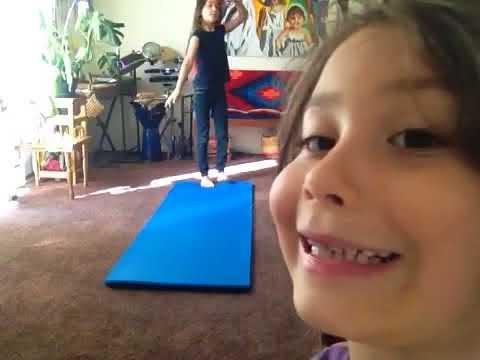 Easy gymnastics  lesson