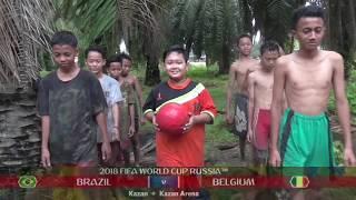 Brazil v Belgium  2018 FIFA World Cup Russia PARODY