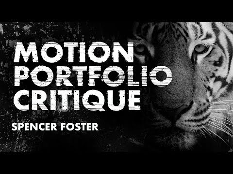 Motion Design Graduate Portfolio Review - Tips For Presenting Design Work During An Interview