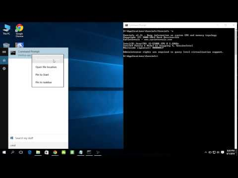 How to run Command prompt as Administrator, in Windows 10