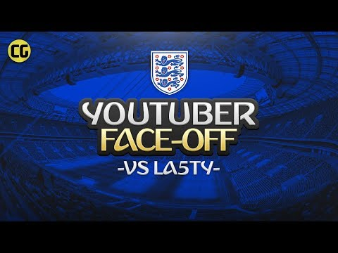 FIFA 18 World Cup - ENGLAND YOUTUBER FACEOFF vs La5ty [PROBABLY MY FUNNIEST GAME]