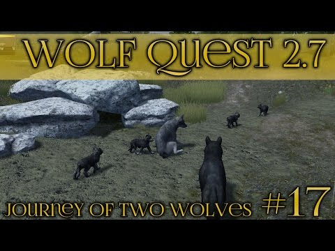 Stormy Birth of Wolf Pups!🐺  Wolf Quest 2.7 - Brothers Journey || Episode #17