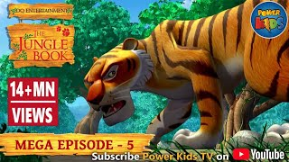The Jungle Book Cartoon Show Mega Episode 5   Latest Cartoon Series for Children