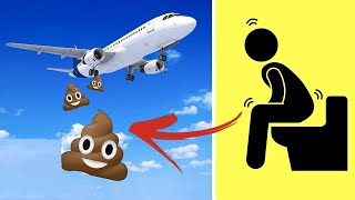 هل تعلم إلى أين تذهب نفايات الطائرات...!!
