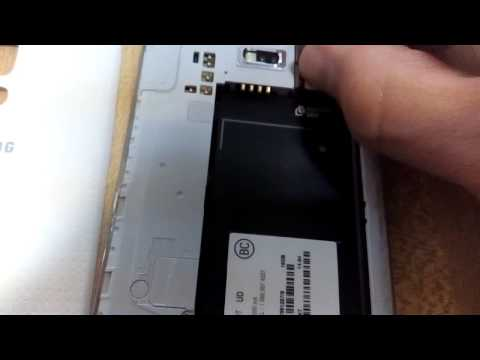 Galaxy S5: How to Insert / Remove Sim & SD Card.