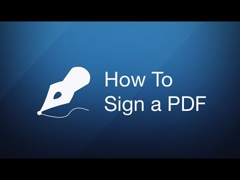 How To Sign a PDF on Mac