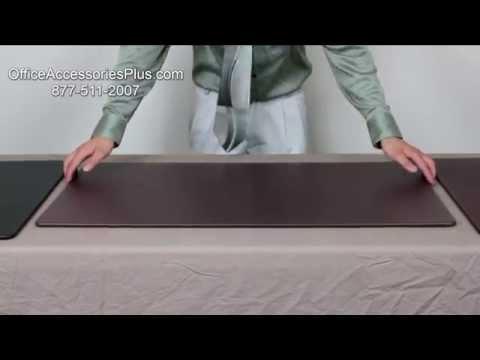 OfficeAccessoriesPlus Leather Desk Mats