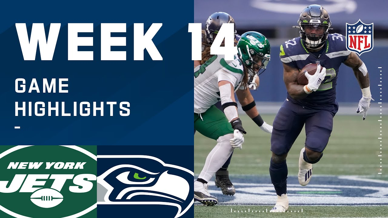 Jets vs. Seahawks Week 14 Highlights | NFL 2020