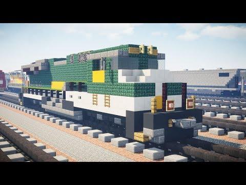Minecraft NS 8099 Southern Heritage Unit ES44AC Tutorial