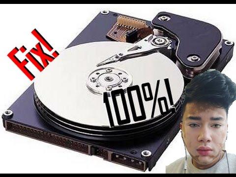 How to fix 100% Disk Usage on Microsoft Windows 10/8.1/8/7/Vista