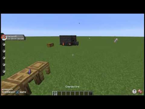 Minecraft Tinkers Construct Tutorial How to make a Smeltery