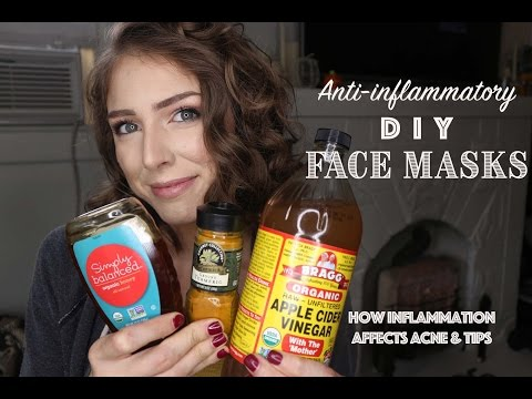 D.I.Y. ANTI INFLAMMATORY FACE MASKS | Acne & Inflammation