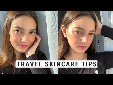 My Travel Korean Skincare Routine + Top Tips!!  NYC/BEAUTYCON VLOG