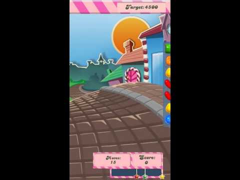 First Look at Candy Crush