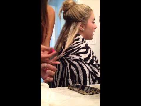Brilliance New York - Hair Chalking.wmv