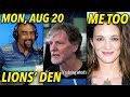Download Aug 20: Christians in Lions' Den; Angry Like Mama; Me Too Accuser SMH MP3,3GP,MP4